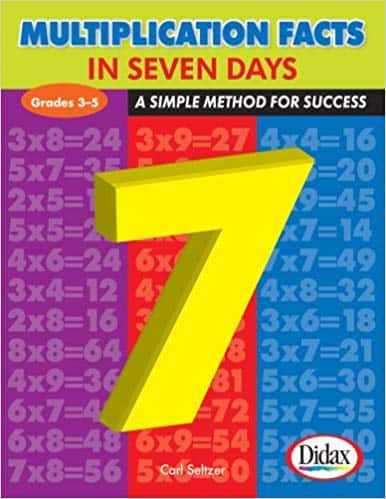 Multiplication Facts in Seven Days (Paperback) by Dr. Carl Seltzer