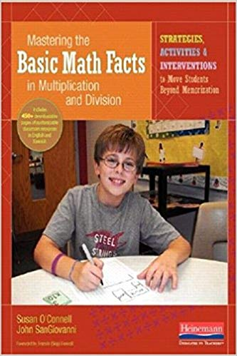 Mastering the Basic Math Facts (Paperback and CDR Edition) by Susan O'Connell and John SanGiovanni