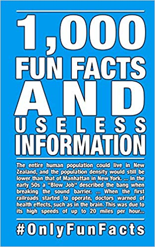 1,000 Fun Facts and useless information (Paperback) by Robby Thiele and Rick Hofmann